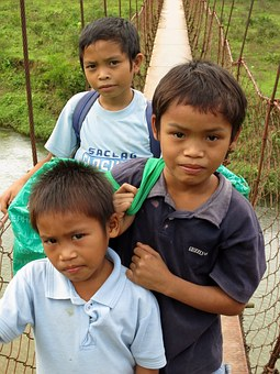 Kid, Children, Boys, Phillipines