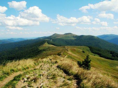 Mountains, Poloniny, Bieszczady, Poland, Tourism
