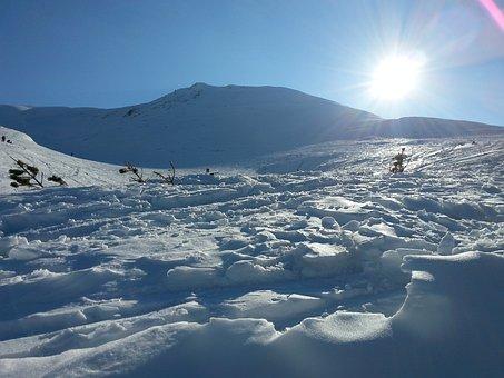 Mountains, Tatry, Tatra Mountains In Winter