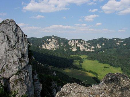 Sůlov, Slovakia, Landscape, Rocks, Sůlovky