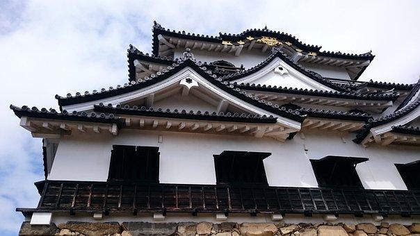 Japan, Hikone Castle, Shiga Prefecture, Castle