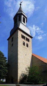 Altstädter Church, Hofgeismar, Tower, Spire, Steeple