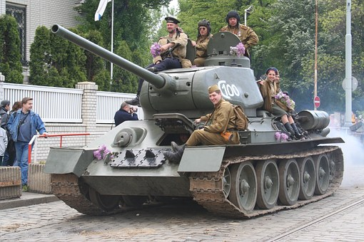 Tank, The Liberation Of Prague, The Show, Soldiers
