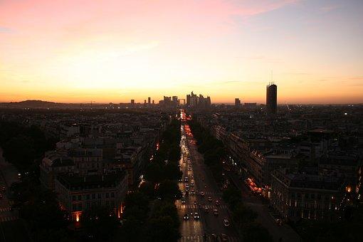 Paris, Triumph Arch, France