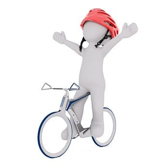 Courier, Backpack, Bike, Wheel, Velo Drahtesel, Cycling