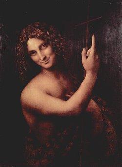 Saint Jean Baptist, Leonardo De Vinci, 1513-1516
