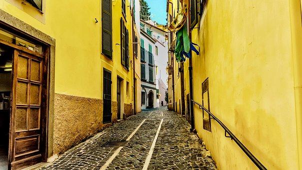 Venetian, Italy, Street, Road, Aisle, Building