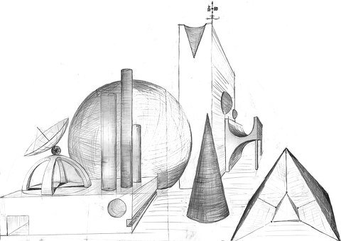 Fantasy, Architecture, Forward, Sci Fi, Abstract, Ball