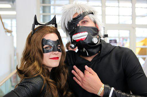 Cosplay, Anime, Manga, Catwoman, Batman, Panel