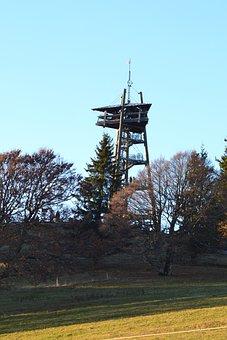 Black Forest, Freiburg, Schauinsland Tower, Tower