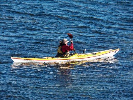 Kayak, Sea Kayaking, Kayaking, Boat, Boats, Vessel