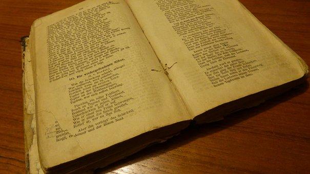 Old Book, Book, Bookworm, Textbook, Antiquarian