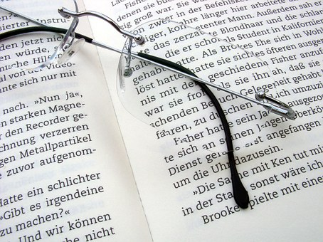 Read, Book, Literature, Pages, Book Pages, Glasses