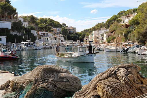 Cala Figuera, Fishing Boat, Mallorca, Fishing