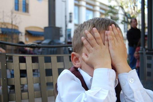 Boy, Facepalm, Child, Youth, Exasperated, Tired