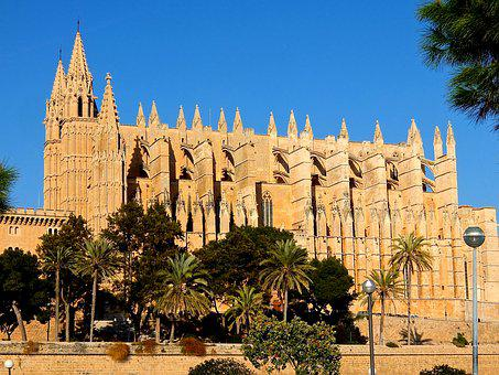 Church, Building, Cathedral, Catedral De Mallorca