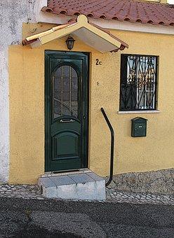 Door, House, The Façade Of The, City, Style, Street