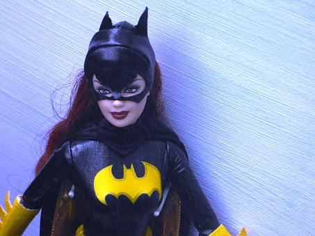 Doll, Barbie, Batman, Catwoman, Woman, Toy, Character
