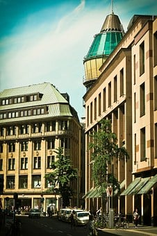 Architecture, Modern, Old, Building, Facade