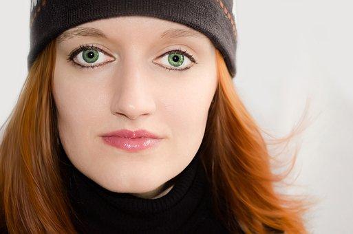Woman, Women, Face, Eyes, Eye, Look, Portrait, Nice