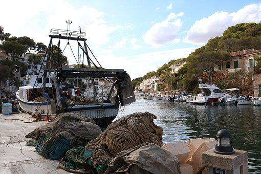 Mallorca, Cala Figuera, Fishing Boat, Fishing Village