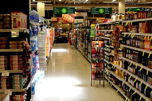 Retail, Grocery, Supermarket, Store, Food, Shopping