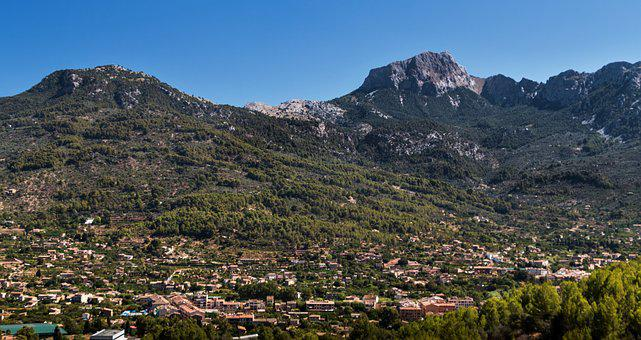 Majorca, An Island, Mountain, Mountains, Forest, Nature