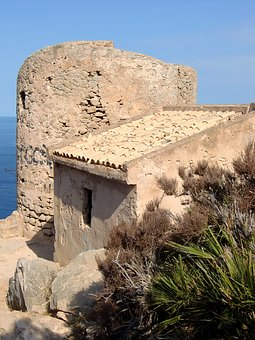 Tower, Cala En Basset, Protection, Fortress, Building