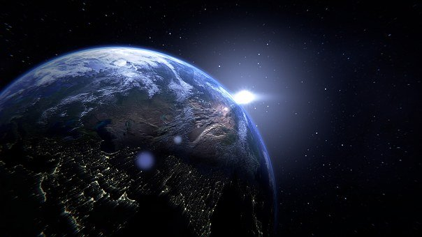 Planet, Earth, Globe, Space, World, Continents, Blue