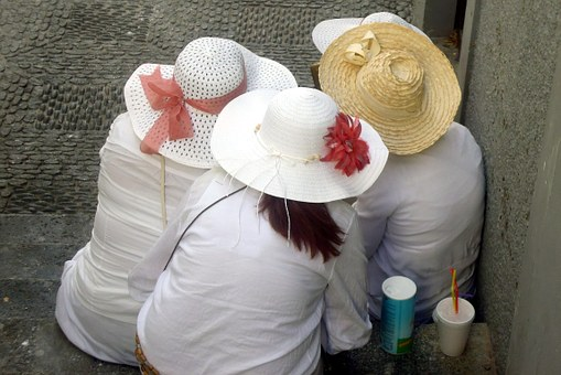 Street Carnival, Hats, Panel, Women