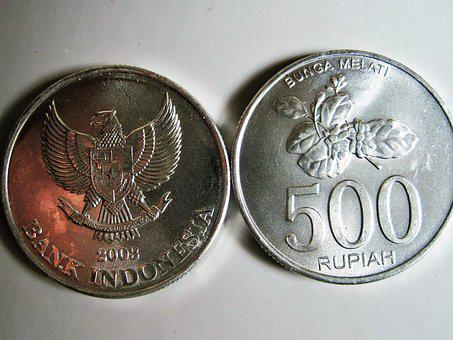 Indochinese Rupiah, Bank Indonesia, Coins, Money