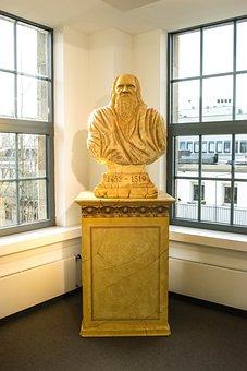 Bust, Sculpture, Leonardo Da Vinci, Italy, Museum, Fig