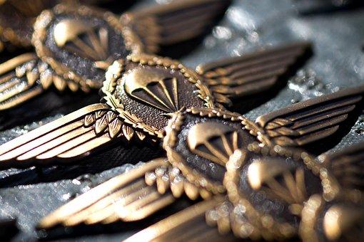 Bundeswehr, Jump Wings, Skill, Army, German, Germany
