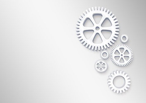 Gears, Logo, Concept, Expressionless, Blank, Untitled
