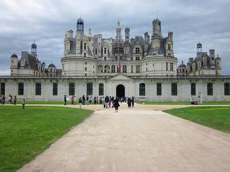Chambord, Loire, Chateau, France, Architecture, Castle