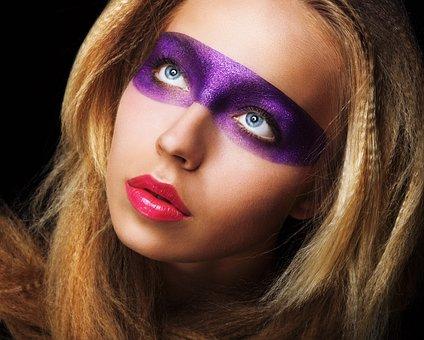 Art, Beauty, Eye, Eye Shadow, Person, Fiction, Makeup