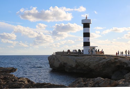Mallorca, Colonia Sant Jordi, Lighthouse