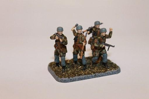 Toy Soldiers, Military, Paratroopers