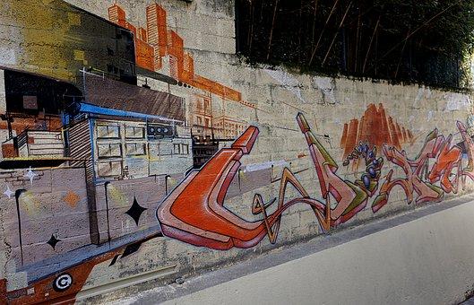 Fresco, Mural, Street Art, Wall Graffiti, Paintings