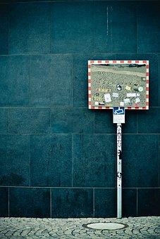 Mirror, Road Mirror, Exit Mirror, Traffic Mirror