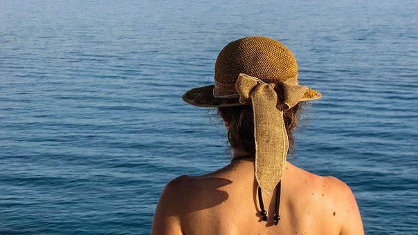 Woman, Hat Sea, Vacation, Summer, Leisure, Relaxation