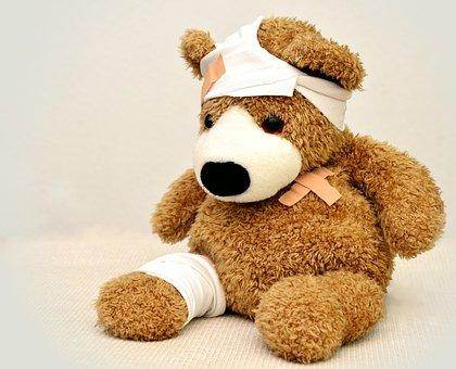 Teddy, Teddy Bear, Association, Ill, Stuffed Animal