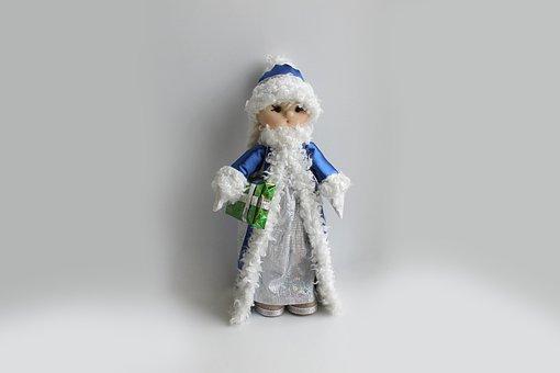 Baby Doll, Handmade, Toy, Crafts, Textiles, Snow Maiden