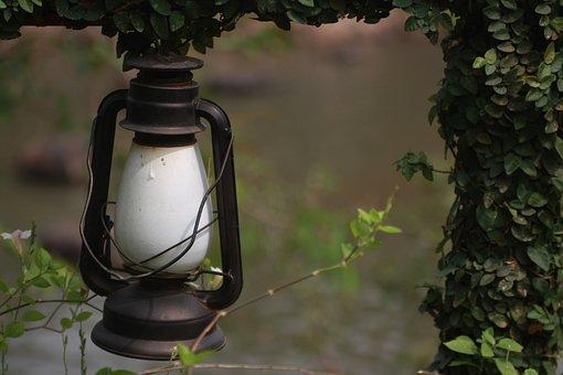 Lamp, Decoration, Light, Garden, Backyard, Vintage