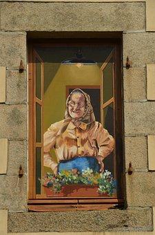 Wall, Mural, Painting, Graffiti, Optical Illusions
