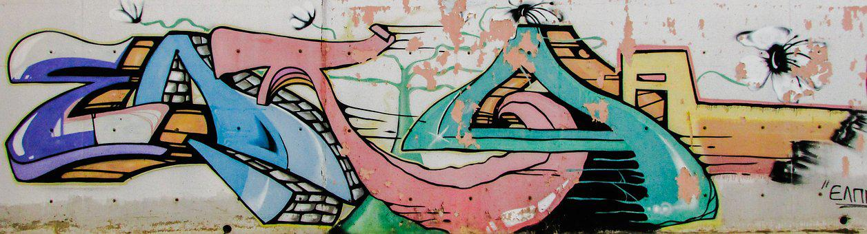 Graffiti, Wall, Graffiti Art, Spray, Street, Dherynia