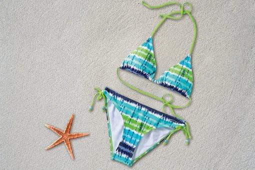Bikini, Two-piece Swimwear, Women, Two-parter