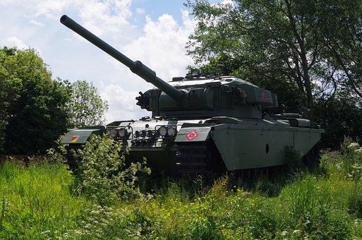 Centurian Tank, Amoured Vehicle, British Army