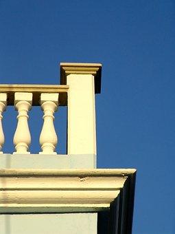 Balustrade, Balcony, Wall