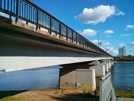 Permian, Kama, River, Bridge